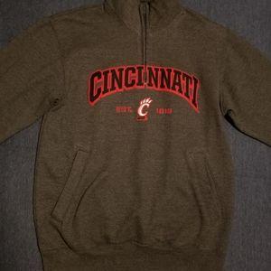 Champion Cincinnati Quarter Zip Sweatshirt